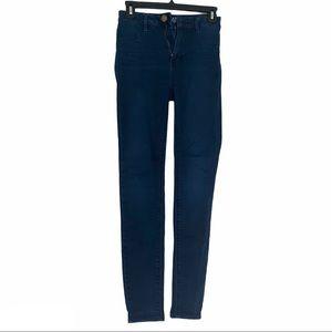 American Eagle Sky High Jegging Jeans Dark Wash 0